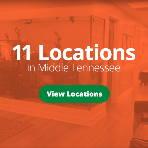 11 Locations in Middle Tennessee