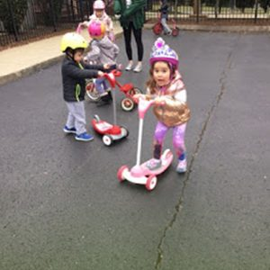 Bike Day at Franklin child care centers